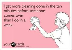 I get more cleaning done in the ten minutes before someone comes over than I do in a week!  Xtreme Services Cleaning & Restoration in Shelby Township, MI can help you with all of your household and commercial needs 24/7!  Give us a call at (586) 477-9496 to schedule an appointment or visit our website www.xtreme-servicesinc.com for more information!