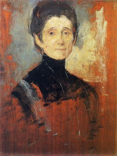 It's About Time: Polish Impressionist Olga Boznanska 1865-1945, self-portrait