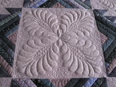 Beautiful quilting by Donna James