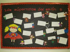 The Second Grade Superkids: super theme Superhero Bulletin Boards, Superhero Classroom Decorations, Bulletin Board Design, Classroom Themes, Superhero Kids, Beginning Of The School Year, And So The Adventure Begins, Class Projects, Coloring For Kids