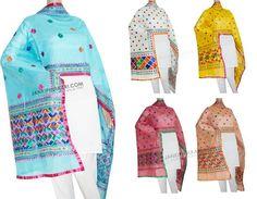 New Arrivals of Handcrafted Dupatta Chanderi Phulkari Dupatta New Designs and Colors Shop Now : http://www.jankiphulkari.com/phul…/chanderi-phulkari-dupatta  #phulkari #dupatta #onlineshopping