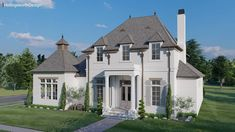 Custom Home Designs, Custom Homes, French Farmhouse, French Country, Acadian House Plans, Valley River, Country Modern Home, French Exterior, Farmhouse Floor Plans