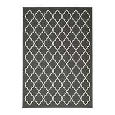 IKEA - HOVSLUND, Vloerkleed, laagpolig, Geschikt voor onder de eettafel omdat het gladgeweven oppervlak ervoor zorgt dat stoelen makkelijk naar achteren getrokken kunnen worden en dat je goed kan stofzuigen.Slijtvast, vlekbestendig en onderhoudsvriendelijk omdat het kleed is gemaakt van synthetische vezels.Door het gelijkmatige oppervlak makkelijk te stofzuigen.