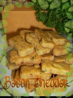 Bacon Cheddar - Gluten Free, Preservative Free, homemade dog biscuits, baked to perfection.