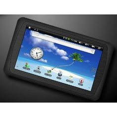 """7"""" Cortex A9 Amlogic Resistive Touchscreen Tablet PC Android 2.2 Google 3G WiFi MID HDMI 1080P, Support 3D Games & G-sensor 4GB capactiy (Black color) (Personal Computers)  http://www.amazon.com/dp/B006OIROK6/?tag=iphonreplacem-20  B006OIROK6"""