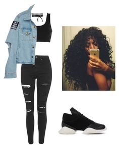 """""""I dont need u but i do want u."""" by beautyqueen-927 ❤ liked on Polyvore featuring adidas Originals, Topshop and adidas"""