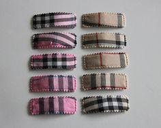 Plaid Snap Clips. $2.50 each. Napkin Rings, Plaid, Boutique, Gingham, Boutiques, Napkin Holders, Tartan