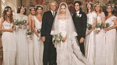 Peaches Geldof wedding photo from Hello Magazine. Most beautiful bridal party ever