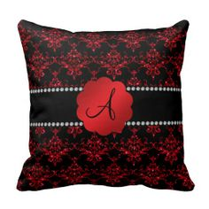 ==>Discount          	Monogram red glitter damask throw pillow           	Monogram red glitter damask throw pillow we are given they also recommend where is the best to buyDiscount Deals          	Monogram red glitter damask throw pillow Here a great deal...Cleck Hot Deals >>> http://www.zazzle.com/monogram_red_glitter_damask_throw_pillow-189114414923330360?rf=238627982471231924&zbar=1&tc=terrest