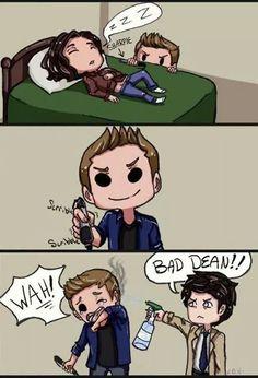 Bad Dean! #SPN