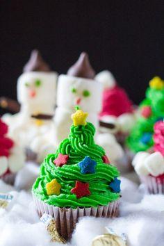 Three Easy Christmas Cupcakes Really nice recipes. Every Mein Blog: Alles rund um die Themen Genuss & Geschmack Kochen Backen Braten Vorspeisen Hauptgerichte und Desserts