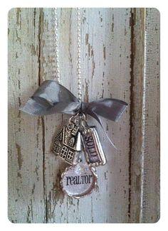 Soldered REALTOR necklace