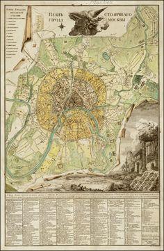Plano de Moscú (1789).