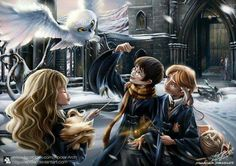 Find images and videos about harry potter, friendship and fanart on We Heart It - the app to get lost in what you love. Fanart Harry Potter, Harry Potter Film, Magia Harry Potter, Classe Harry Potter, Harry Potter Artwork, Mundo Harry Potter, Always Harry Potter, Harry Potter Drawings, Harry James Potter