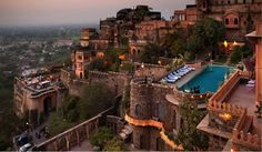 #NeemranaFortPalace is one of the famous places in #Neemrana. #Enjoy the stunning #historic charm and grandeur of this exotic #heritage hotel. #Hotel offers Heritage accommodations, best in convenience and other services. #travel #rajasthan #alwar #wanderlust