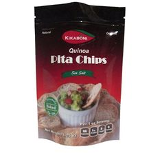 Quinoa Pita Chips 125 Oz By Kikaboni Pack of 24 Delicious Natural Healthy Chips Low Calorie with Low Fat High Protein Vegetarian with Quinoa Best Fitness Chips and Snacks to Go for Children and Adults Summer Weight Control Great for Diabetics >>> You can find more details by visiting the image link.