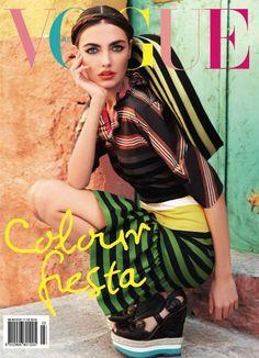 Colour Fiesta Vogue Australia