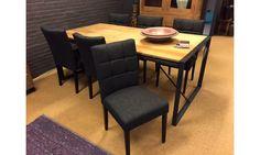 Carre. Heerlijk zittende eetkamerstoel met nosag veren in de zitting. Ook met een lagere rug, met armleuning of als barstoel leverbaar. Alle kleuren stof of leer mogelijk. http://www.winjewanje.nl/carre-hd-a