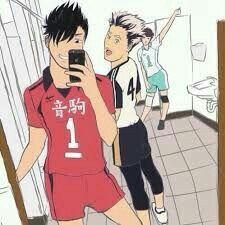 Oikawa Posing In The Background Xd Haikyuu Haikyuu Funny