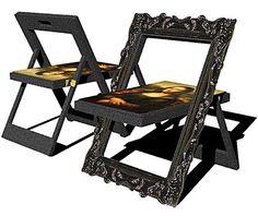 Kwang Ho Lee  foldable Mona Lisa chair