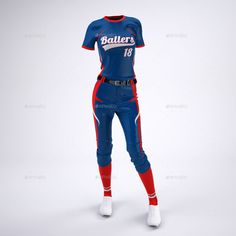 9679ef35 Women's Softball Jerseys and Uniform Mock-Up #Ad #Uniform, #SPONSORED,  #Mock, #Designing, #Jerseys, #Women