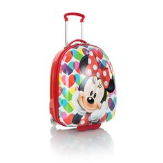minnie mouse4/kids luggage with pricing info | Disney Minnie Mouse Kids Luggage - (D-HSRL-MN01-13FA) | Heys Luggage ...