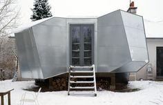 Vue de mon atelier  Architecte Didier Faustino