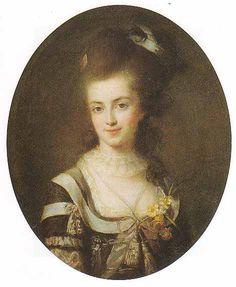 Catherine Victoire de Bavilliers, comtesse de Bernon de Montelegier, 1777 by Louise Vigee Le Brun