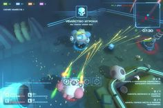 Laserbots is a multiplayer sci-fi shooter game