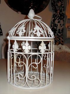 looked at birdcage you liked. Would be £100 dad says with postage . Looking for a few alternatives. All can change colour a add flowers to. luv mum