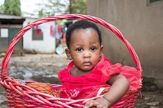 Baby in a Basket by fidphotography97