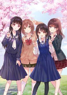 Manga Anime Girl, Art Anime, Anime Girl Drawings, Anime Neko, Kawaii Anime Girl, Pretty Anime Girl, Cool Anime Girl, Cute Anime Pics, Beautiful Anime Girl