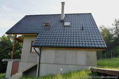 Realizacja wg. projektu Chatka z MG Projekt.  #elewacja #dom #dach