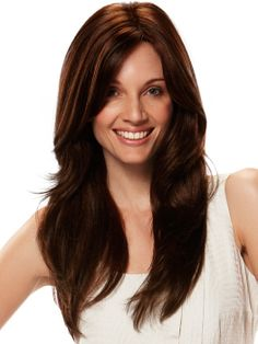 Capless Extra Long Top Grade Quality Synthetic Coppery Straight Hair Wig