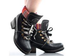 Black Tribal   Combat Boots