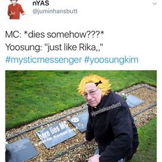 Here lies MC, a slut for Korean boys.