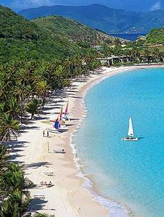Peter Island in the British Virgin Islands. Relaxing getaway.  Google Image Result for http://www.caribbean-on-line.com/travel-stories/images/peter-island-beach.jpg