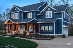 """TM Vavra Architects Pinterest Board titled """"Inside the Clover"""" shows you why The Clover won four awards at the Homearama Event. """"Inside The Clover"""" Board gives you interior pictures so you can see the beautiful Craftsman Style design with rustic details.   Come take a look! #Craftsman"""