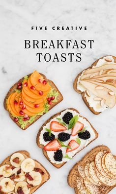 Five Creative Breakfast Toast / eBay