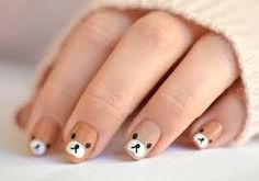 Nail Art Designs 💅 - Cute nails, Nail art designs and Pretty nails. Baby Nail Art, Nail Art For Kids, Baby Nails, Cute Nail Art, Cute Nails, Dog Nail Art, Kawaii Nail Art, Kid Nails, Rilakkuma