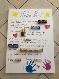 Geschenke Idee papa Geschenke Idee papa Geschenke Idee papa The post Geschenke Idee papa appeared first on Geburtstag ideen. The post Geschenke Idee papa appeared first on Geschenke ideen. Valentine Day Gifts, Christmas Gifts, Valentines, Diy Birthday, Birthday Presents, Cumpleaños Diy, Diy Y Manualidades, Daddy Day, Ideias Diy