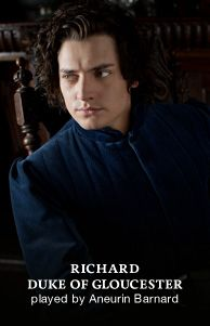 The White Queen - A STARZ Original Series - looks a lot like Johnny Depp in Edward Scissorhands. Richard 111, King Richard, The White Queen Starz, Period Dramas, Period Movies, Anne Neville, Aneurin Barnard, Elizabeth Woodville, Philippa Gregory