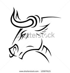 stock-vector-angry-bull-vector-illustration-120879121.jpg (450×470)