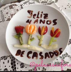 Bodas de Flores e Frutas! Surpresa preparada pelo meu marido lindo!
