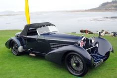 1934 Alfa Romeo 8C 2300 Spider. / The Me I Saw