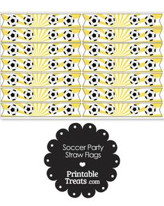 Here are some fun pink soccer party straw flags you can use to decorate party straws and cupcake picks for a soccer birthday party or soccer team treat. These pink soccer party straw flags Soccer Birthday Parties, Soccer Party, Soccer Practice, Some Fun, Flags, Activities For Kids, Printables, Yellow, Pink