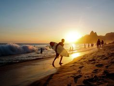 I would love to learn how to surf at this beach! #ViventuraPinYourWayToSouthAmerica