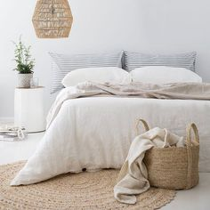 """75 Likes, 6 Comments - The Pillowslip Store (@thepillowslipstore) on Instagram: """"I love all the white, as much as I love a colourful space, I also love the calm feeling you get in…"""""""