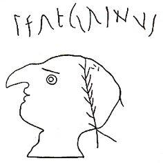 Ancient Roman satirical graffito
