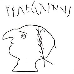 Ancient Roman satirical graffito